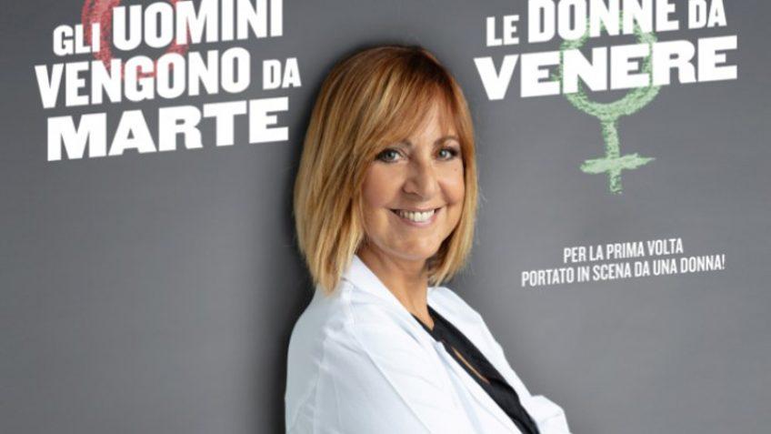 """Debora Villa: """"Gli uomini vengono da Marte, le donne da Venere"""" al Teatro sulla Laguna di Orbetello il 9 Agosto 2019 per la prima volta in assoluto"""